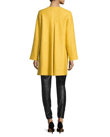 Lana Fantasia Topper Coat, Sunset Gold, Petite