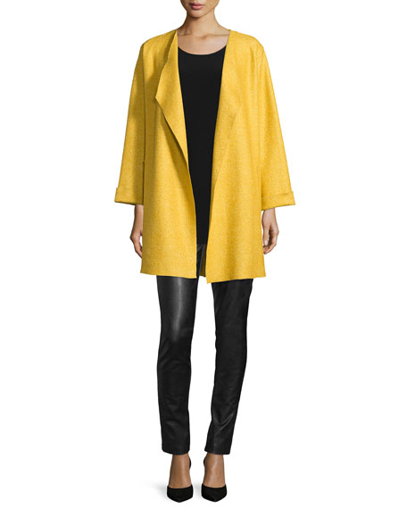 Lana Fantasia Topper Coat, Plus Size
