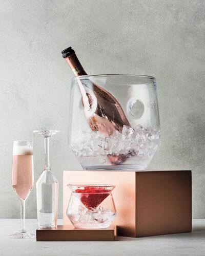 Bristol Champagne Flutes & Caviar Chillers