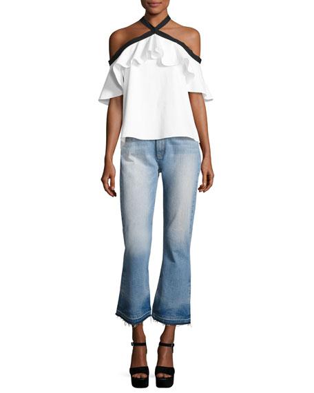 38187c3b1d168d Alice + Olivia Tasha Jeans & Alyssa Top & Matching Items   Neiman Marcus