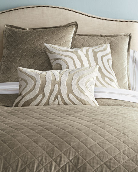 King Chloe Velvet Coverlet