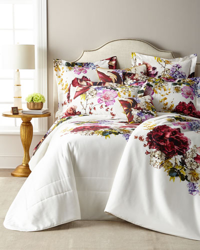 Floris Queen Duvet Cover  and Ma Thread Counthing Items