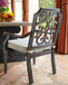 Image 7 of 7: Pair of Gabrielle Dining Chairs
