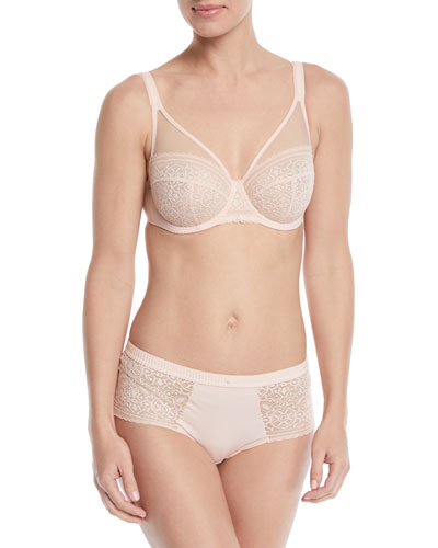 Mandala Full-Cup Lace Bra and Matching Items