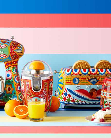 Smeg Dolce Gabbana x SMEG Sicily Is My Love Juicer