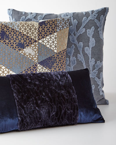 Callard Band Velvet Pillow  and Matching Items