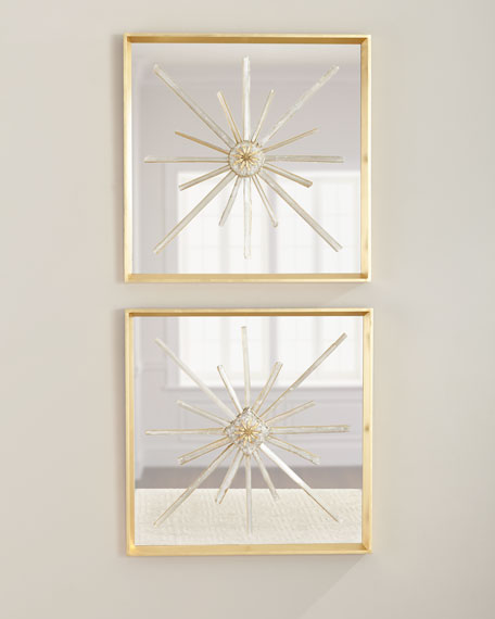 John-Richard Collection Star Crossed Circle Wall Decor