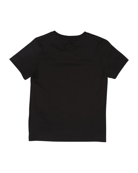Givenchy Distressed Logo Graphic Tee, Size 12-14