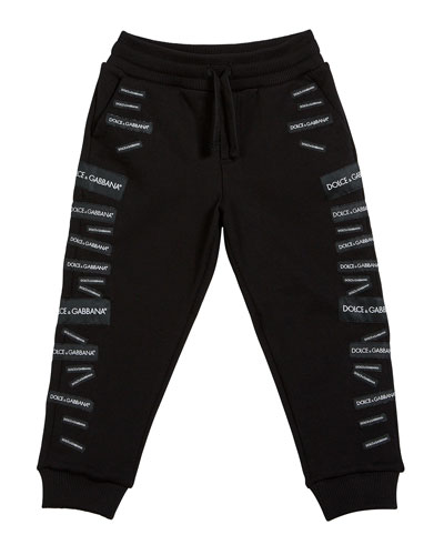 Logo Patch Sweatpants  Size 4-6  and Matching Items