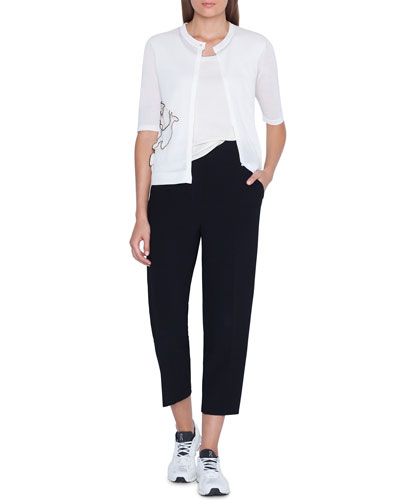 1/2-Sleeve Freeform Cardigan and Matching Items