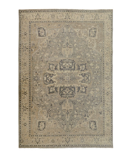 """Bishop Hand-Knotted Rug, 7'6"""" x 9'6"""""""