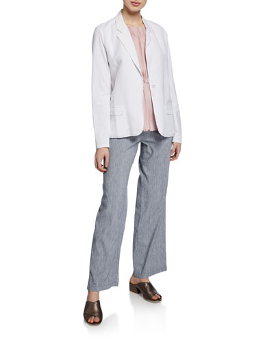 Plus Size Front Runner One-Button Blazer and Matching Items