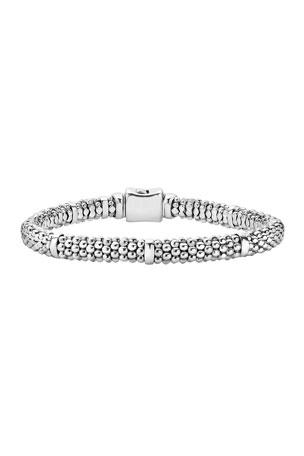Lagos Caviar Rope Bracelet Caviar Rope Bracelet