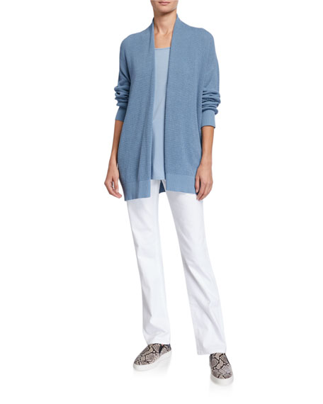 Image 4 of 4: Eileen Fisher Plus Size High-Rise Straight-Leg Denim Jeans
