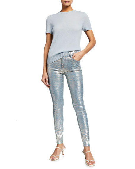 Image 3 of 3: J Brand Maria High-Rise Super Skinny Jeans