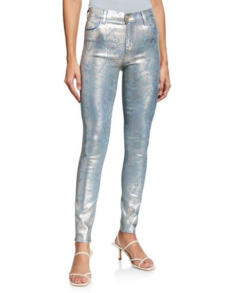 Image 1 of 3: J Brand Maria High-Rise Super Skinny Jeans