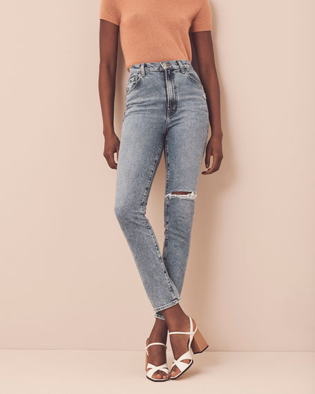 Image 2 of 5: J Brand 1212 Runway High-Rise Slim Jeans
