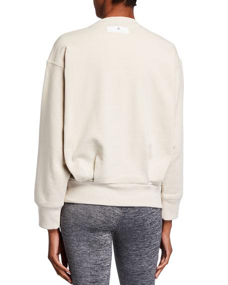 adidas by Stella McCartney Essentials Logo Pullover Sweatshirt