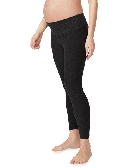 Beyond Yoga Maternity Empire Waisted Midi Leggings