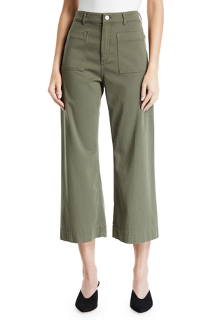 A.L.C. Fallon Cropped Pants