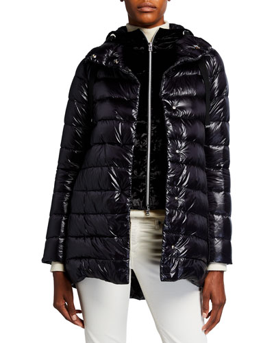 Herno Resort Nancy A-Line Puffer Coat