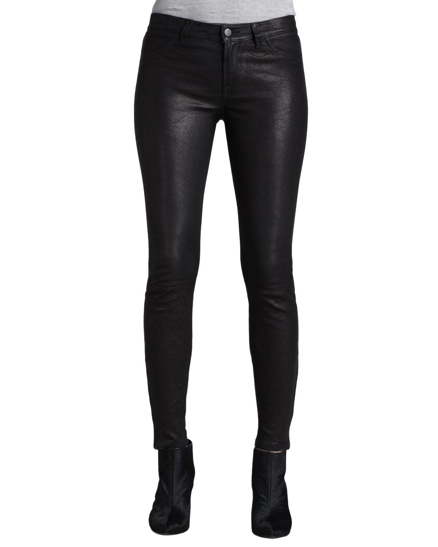 7452a1ce9cb J Brand Leather Super Skinny Pants