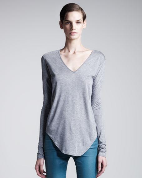 Kinetic Long-Sleeve Jersey Top