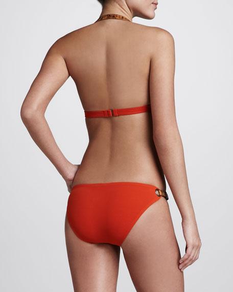 Buckled Halter Bikini, Sienna
