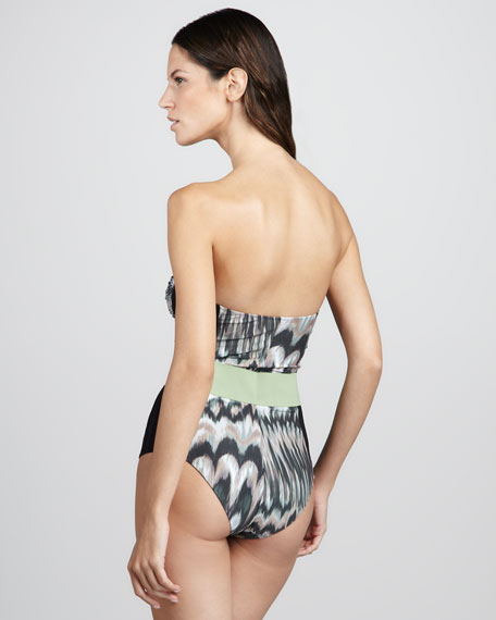 Modica Belted One-Piece Swimsuit