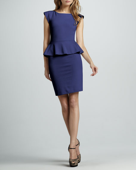Victoria Peplum Dress