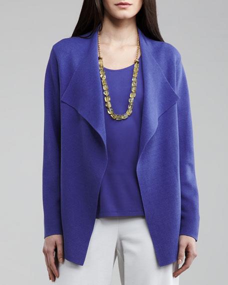 Silk-Interlock Cascade Jacket, Women's
