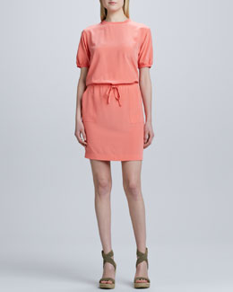 Raoul Dash Drawstring Dress