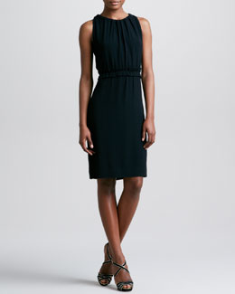 kate spade new york katia sleeveless tie-neck dress