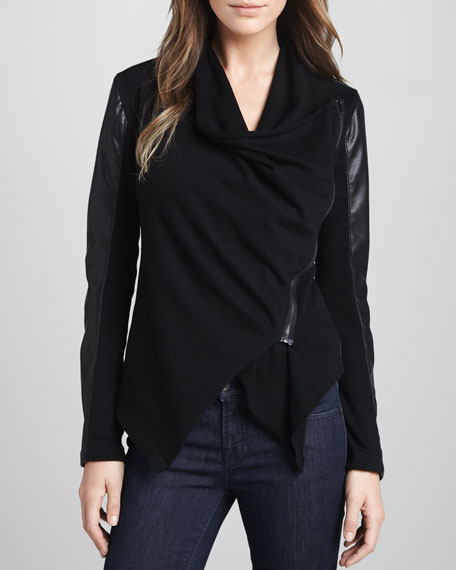 Blank Private Practice Draped Jacket