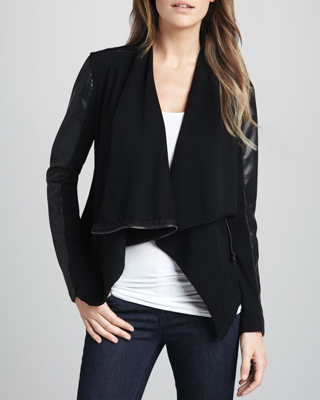 Private Practice Draped Jacket