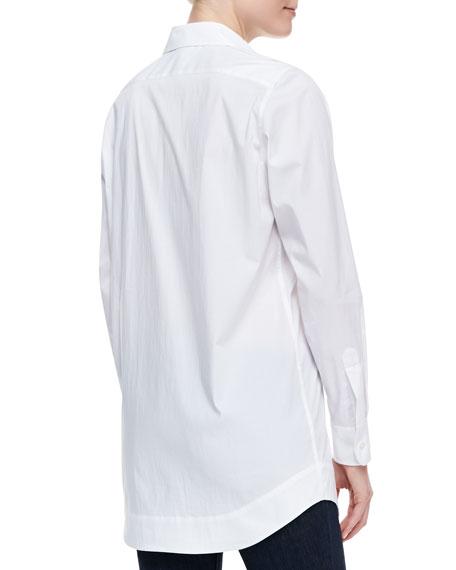 Boyfriend Long Oxford Shirt