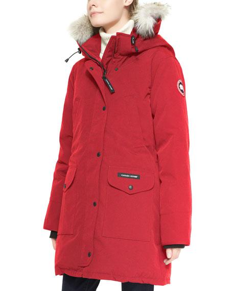 Canada Goose womens outlet authentic - Canada Goose Trillium Fur-Hood Parka Jacket