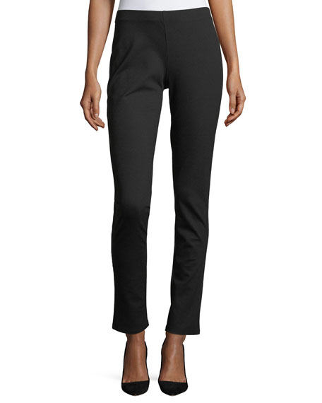 Eileen Fisher Slim Ponte Pants, Petite