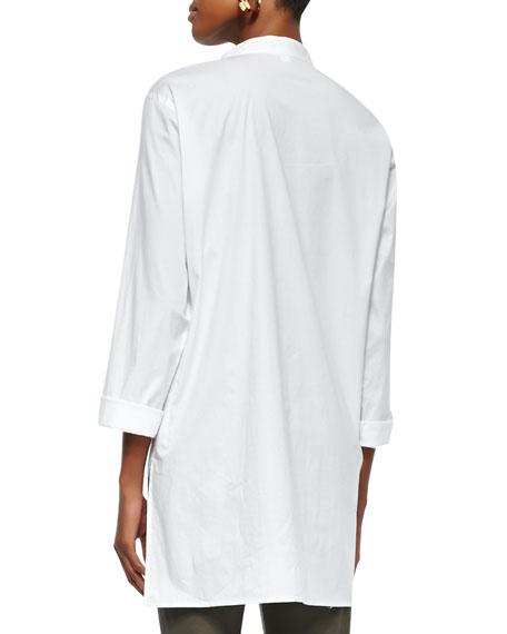 Stretch Easy Big Shirt, White