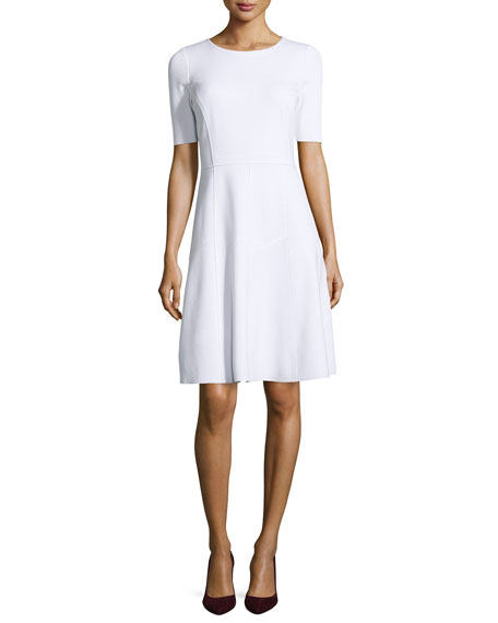 Maria Fit-and-Flare Dress