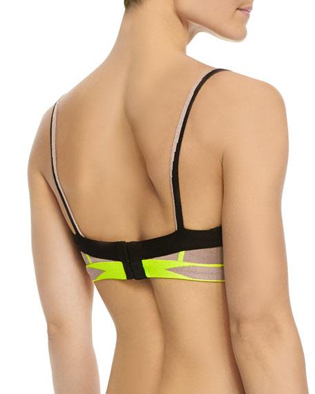 Lyyti Neon Bikini Top
