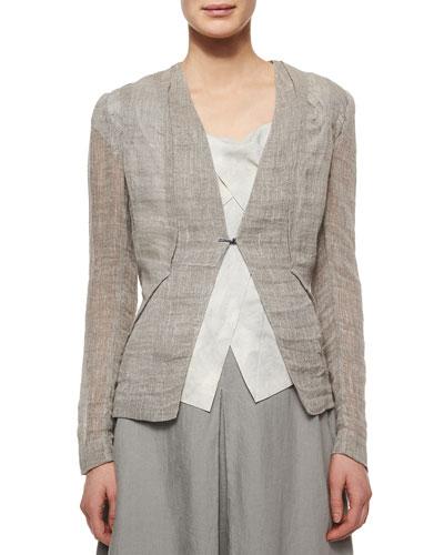 Elie Tahari May Linen Jacket