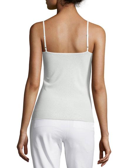 Lafayette 148 New York Plus Size Jersey Camisole W/ Adjustable Straps