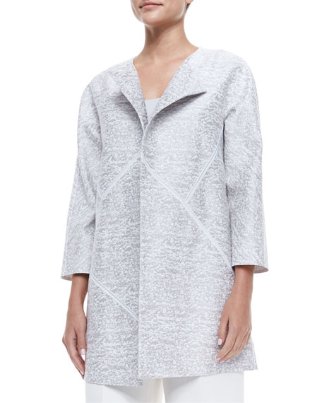Lafayette 148 New York Anissa 3/4-Sleeve Topper Jacket
