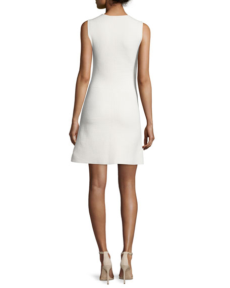 Irelia Geometric-Striped Dress