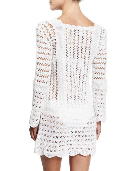 Bandana Crocheted Sundress Coverup