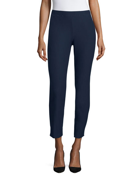Washable Tapered Slim Pants, Plus Size