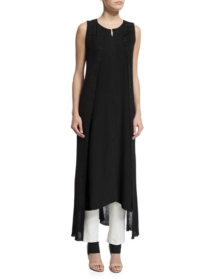 Fisher Project Sheer Skinny Vest