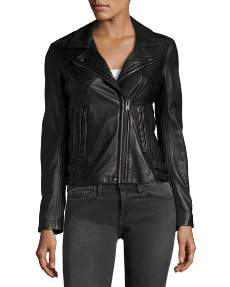 Han Leather Motor Jacket