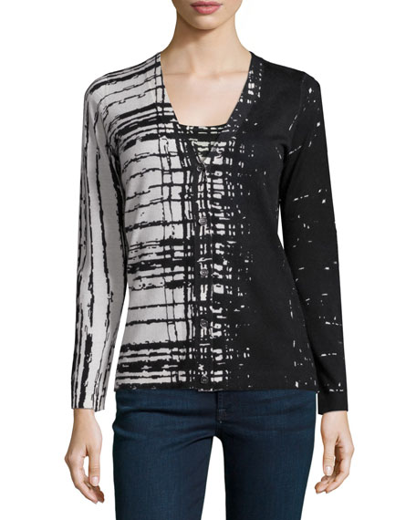Superfine Skyfall Button-Front Cardigan Cheap